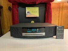 Bose Wave Music System AWRCC1 AM/FM Radio Alarm Clock CD Player W/ Remote MINT