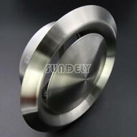"""NEW 5/"""" New Stainless Steel Wall Vent Air Duct Round Pipe Metal Exhaust 125mm UK"""