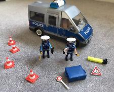 PLAYMOBIL 9236 City Action poliziotti con van della polizia, luci lampeggianti e suono