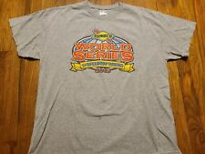 Thompson Speedway T-shirt 2015 Sunoco World Series Racing 2-sided Connecticut