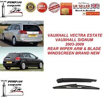 VAUXHALL VECTRA ESTATE / SIGNUM 2003-2009 REAR WIPER ARM & BLADE WINDSCREEN NEW
