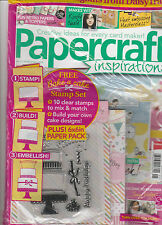 PAPER CRAFT INSPIRATIONS,  JANUARY, 2014   ISSUE, 121 ( CREATIVE IDEAS FOR EVERY