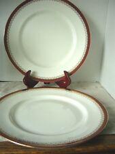 Paragon Fine Bone China Dinnerware 'Red Holyrood' Set of 2 Salad Plates England