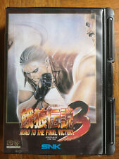 FATAL FURY 3 Road to the Final Victory NEO GEO AES JAP