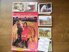 PANINI EMPTY ALBUM + ALL 180 STICKERS OF PAARDEN ALLES OVER JE LIEVELINGSDIER