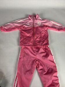 New York Yankees Adidas Jumpsuit Pink Toddler 18m