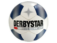 Derbystar X-Deceno TT Fußball Gr.5 Training-Fussball Ball weiß blau Teamsport