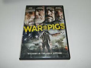 WAR PIGS DVD LUKE BOSS DOLPH LUNDGREN CHUCK LIDDELL MICKEY ROURKE