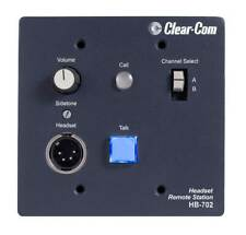 Clear-Com Hb-702 2 Channel Headset Station