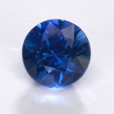 Natural Blue Sapphire Gem Stone 0.47 CT Madagascar Round Cut Loose Real 51950249