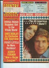 Country Song Roundup Jan 1973  Donna Fargo Buck Owens Peggy Little   MBX48