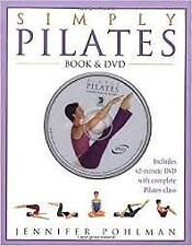 Simply Pilates: Book & DVD by Jennifer Pohlman (2003) Like new, free shipping
