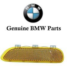 BMW  E46 323Ci 325Ci 330Ci Yellow Reflector For Bumper Cover Right Front NEW