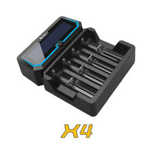 XTAR X4 2A Fast-Charging USB LCD Battery Charger for 18650 26650 14650