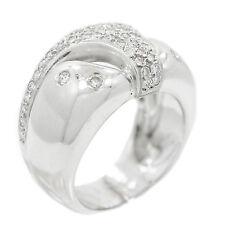 18K White Gold 0.65 Ct Diamond Ring 12.6 Grams Ring Size 6