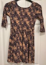 Forever 21 Dress Small Navy Pink NWT
