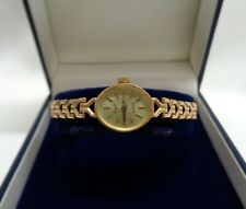 Fine Everite Quartz 9ct Yellow Gold Watch and Bracelet - Length 6 1/2 inch -8.8g