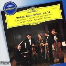 Johannes Brahms : Klavierquintett Op. 34 (Pollini, Quartetto Italiano) CD