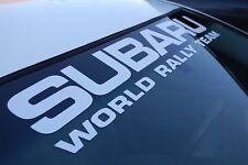 Subaru World Rally Team Wrx Sti Wrc Windshield Decal Sticker Banner Vinyl Car