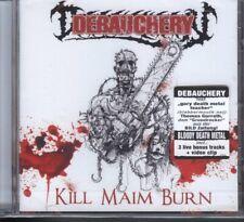 Debauchery - Kill Maim Burn CD