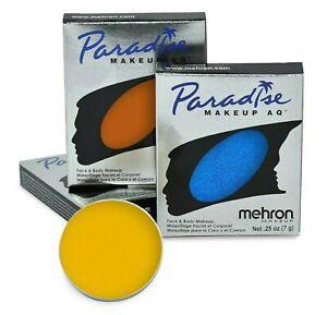 Mehron Paradise Makeup AQ, Professional Face and Body Paint, (7 g)-Choose Color.