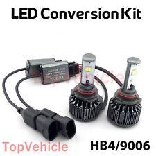 2016 Cree LED Headlight Kit 9006 HB4 9012 60W 6000K 7600LM Bulbs Pair HID White
