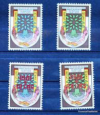 GUINEA GUINEA serie completo Scott # 194/5 B17/8 SELLO NUEVA LO195