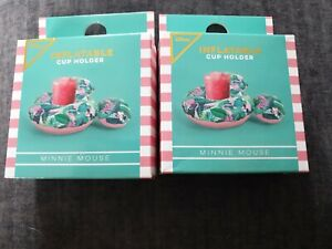 Primark Disney Minnie Mouse Inflatable Cup Holder x 2 BNIB