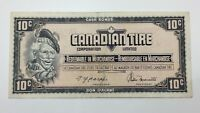 1974 Canadian Tire 10 Ten Cents CTC-S4-C-PN Circulated Money Banknote E143
