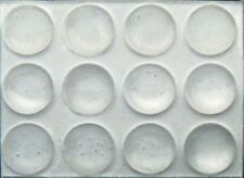 72 3/8 Round Rubber Bumpers Clear Surface Protector Pad Cabinet Crafts Feet
