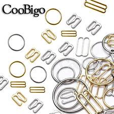 Metal Bra Strap Adjuster Slider/ Hook /O Ring Lingerie Sewing Craft 6mm~25mm