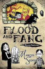 Flood and Fang (The Raven Mysteries - book 1), Marcus Sedgwick | Hardcover Book