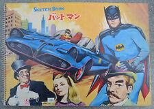 BATMAN 1966 Japan Sketch Book n°1021 SEIKA Catwoman Penguin Robin Mad Hatter