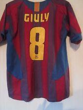 Barcelona 2005-2006 Giuly Hogar Camiseta De Fútbol Tamaño Mediano/43248