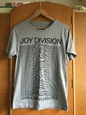 Joy Division T shirt, 'indigo', size small, green with motif