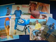 1960s Steve McQueen Japan VINTAGE 7 Posters SET VERY RARE