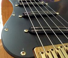"Fender Stratocaster or Telecaster Pickguard Screws Lot of 20 4x1/2"" Solid Brass."