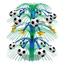 Fussball Tisch Kaskade Party Dekoration Sport Fest Kinder Geburtstag 45,7cm NEU