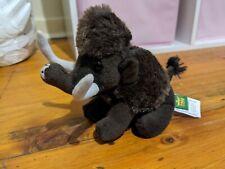 Plush Mammoth Toy Brown Wild Republic Europe Denmark 13cm