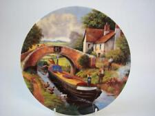 WEDGWOOD THE WATER LANES OF ENGLAND A WAVE FROM THE BRIDGE CANALS PLATE