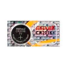 Maxell CR2016 Batería Litio 3V Botón - 5 Pilas
