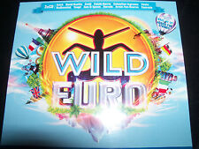 Wild Euro Various 3 CD Avicii Zedd Calvin Harris Cascada Tiesto & More - New