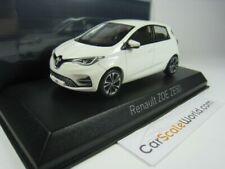 Renault Zoe Ze50 2020 1/43 Norev (Pearl White)