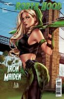 Grimm Fairy Tales ROBYN HOOD IRON MAIDEN Part 1 Cover C by Elias Chatzoudis NM