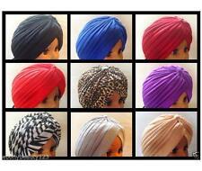 NUOVO per tutta la testa TURBANTE Headwrap stile indiano Fascia Capelli Bandana