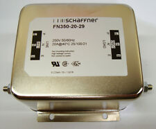 SCHAFFNER  FN350-20-29  RFI POWER LINE FILTER, 20A, 4.9mA  - DAMAGED SEE PICTURS