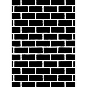 Darice Embossing Folder BRICK WALL Bricks CHIMNEY New! Card Making A2 1218-108
