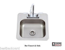 Lion Premium Grills bar faucet & sink set  ( GREAT ADDITION TO YOUR BBQ ISLAND )