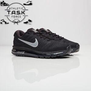 💯 Nike Air Max 2017 Black Anthracite White Sz 10.5 OG 849559-001 BNIB