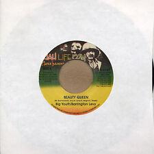 """Big Youth / Barrington Levy Beauty Queen 7"""" LP vinyl NEW COPY Jah Life US PRESS"""